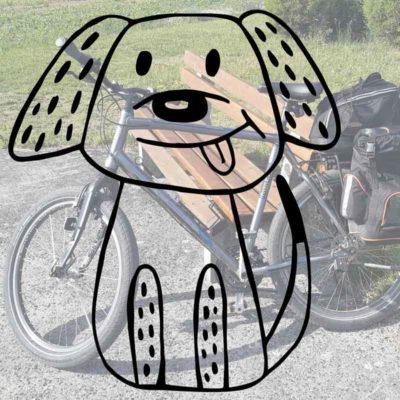 Ist Radfahren mit dem Hund an der Leine in Österreich verboten?